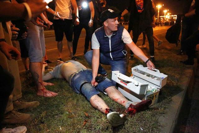 Християнин, що попався «під руку» силовикам, розповів, що насправді відбувається в Білорусі