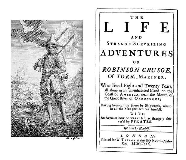 Із щоденника Робінзона Крузо: Перший в світі євангелізаційний роман