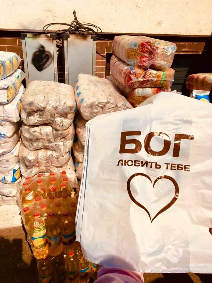 Християни на Черкащині роздадуть 1000 продуктових наборів нужденним