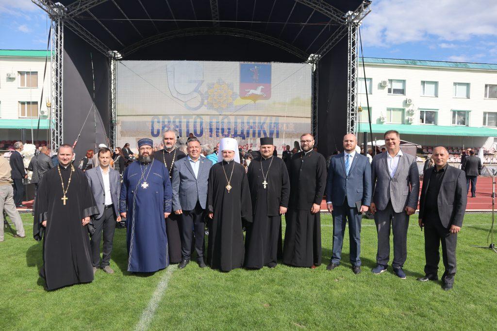 Понад п'ять тисяч черкащан відзначили Свято Подяки на Центральному стадіоні міста